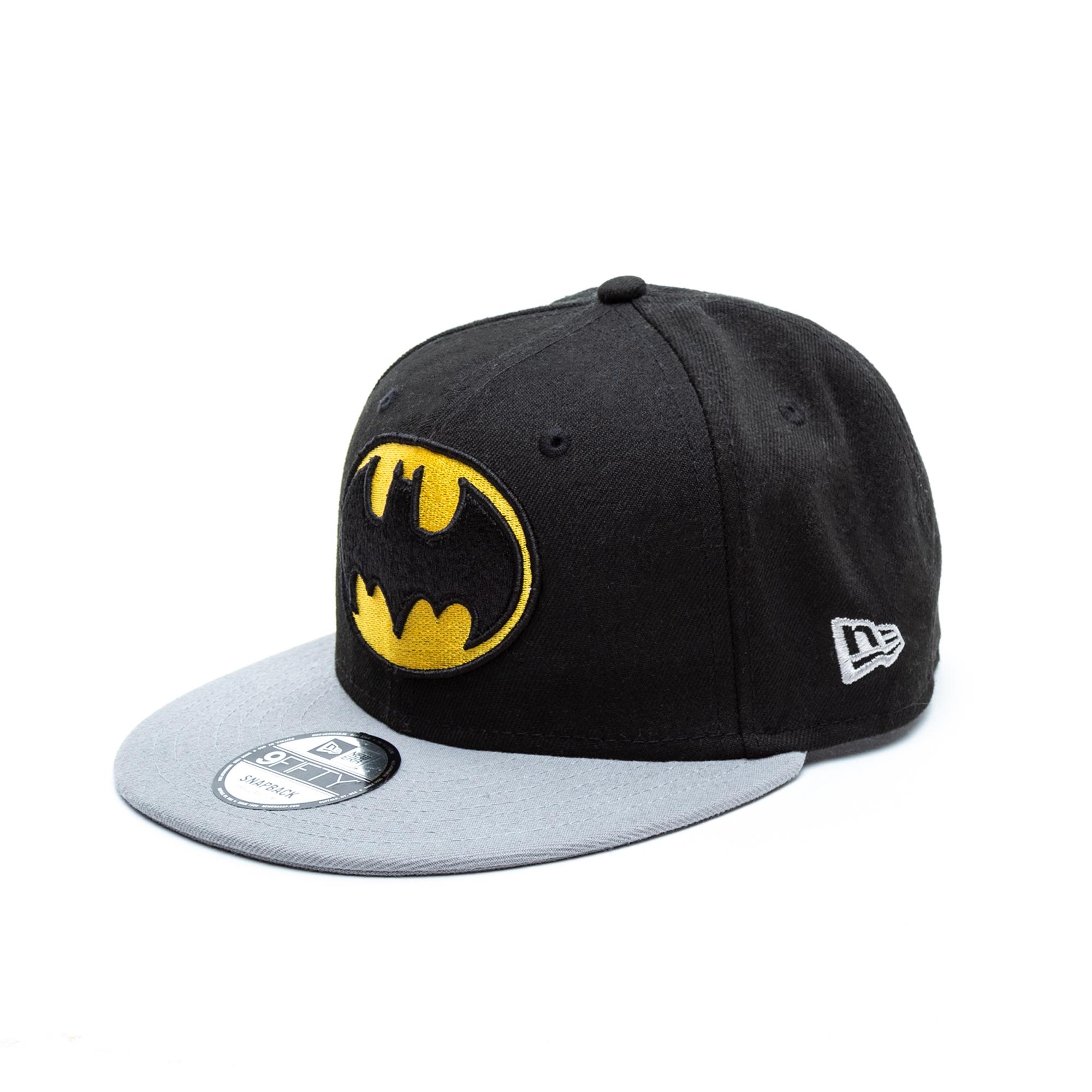New Era Batman Team Snapback Unisex Siyah Şapka