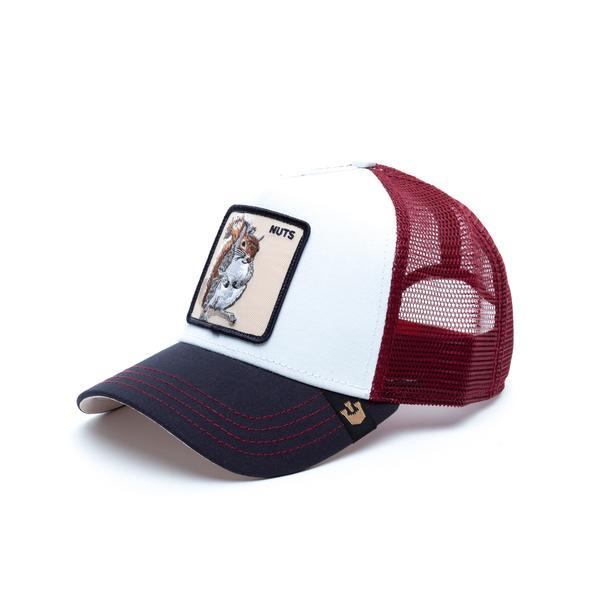 Goorin Bros Bonkers Beyaz-Kırmızı Unisex Şapka