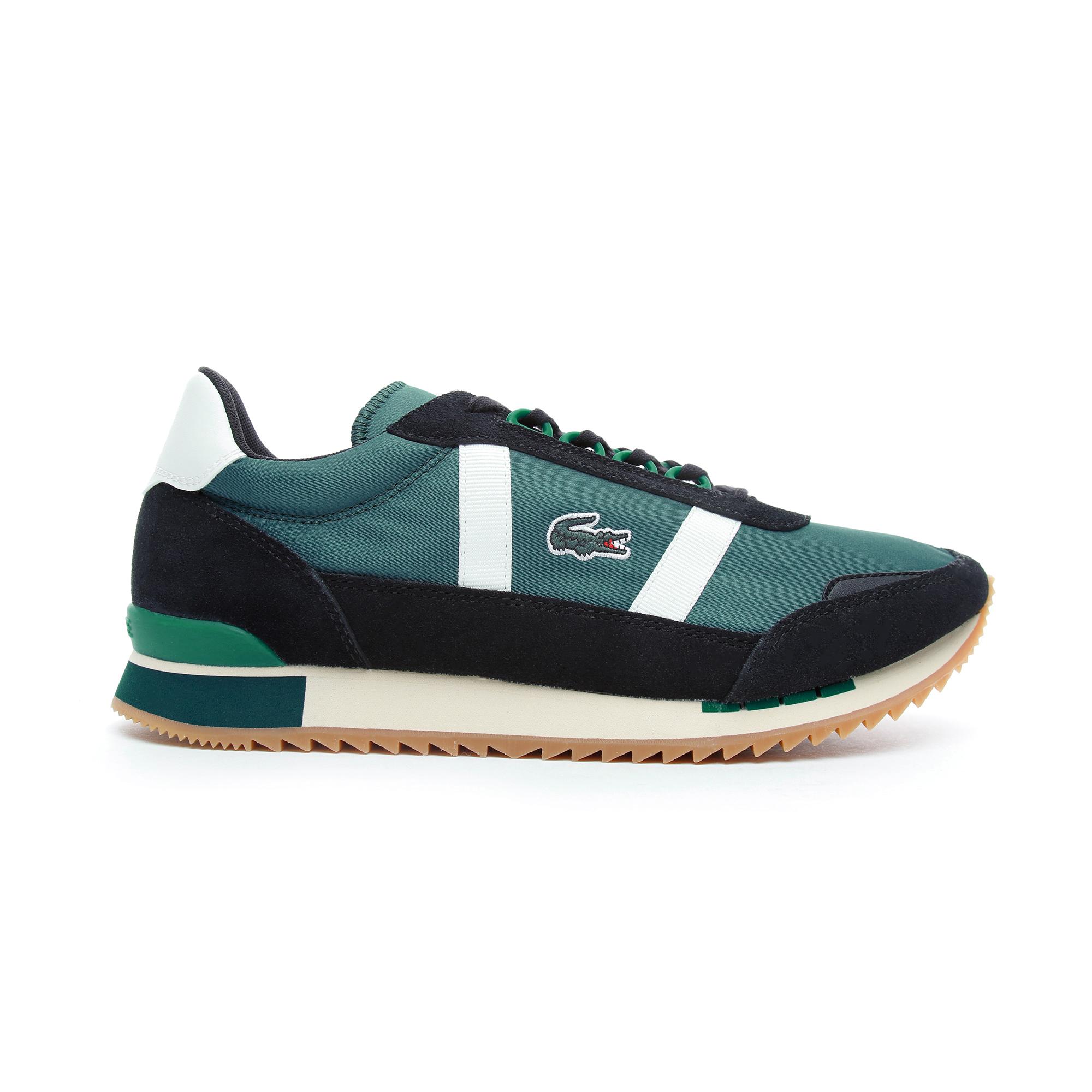 Lacoste Partner Retro Erkek Koyu Yeşil - Bej Spor Ayakkabı