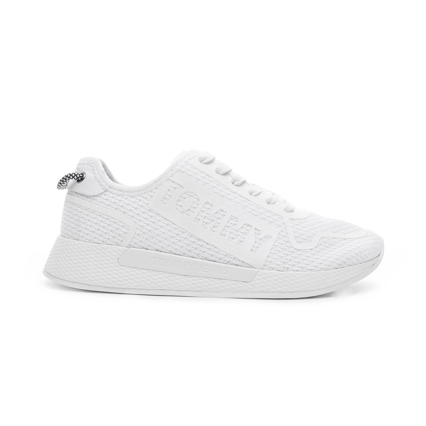 Tommy Hilfiger Technical Flexi Kadın Beyaz Spor Ayakkabı