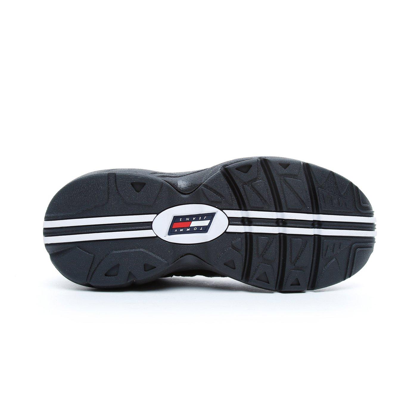 Tommy Hilfiger Retro Kadın Siyah Spor Ayakkabı