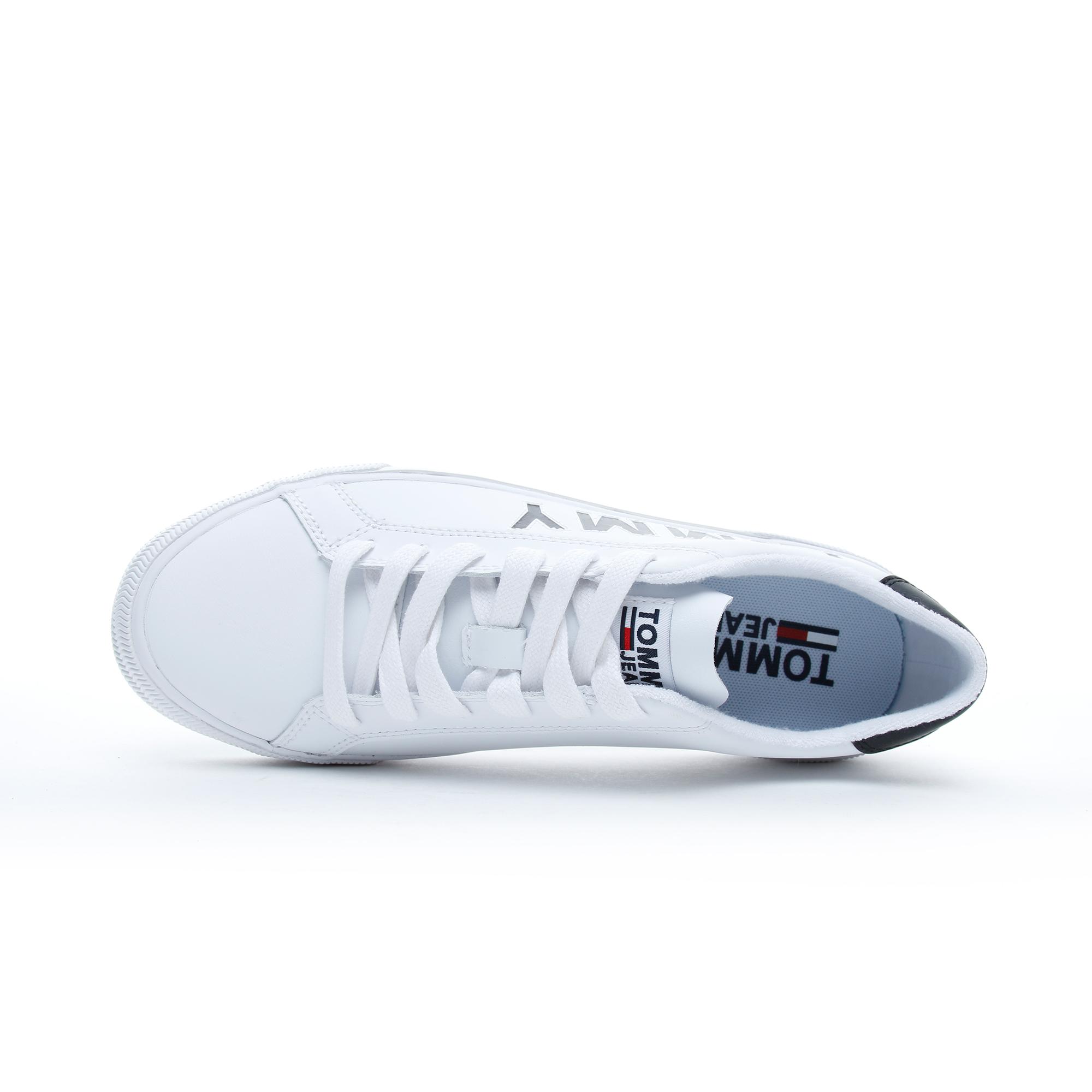 Tommy Hilfiger Cut Out Erkek Beyaz Spor Ayakkabı