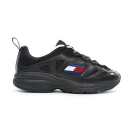 Tommy Hilfiger Retro Erkek Siyah Spor Ayakkabı