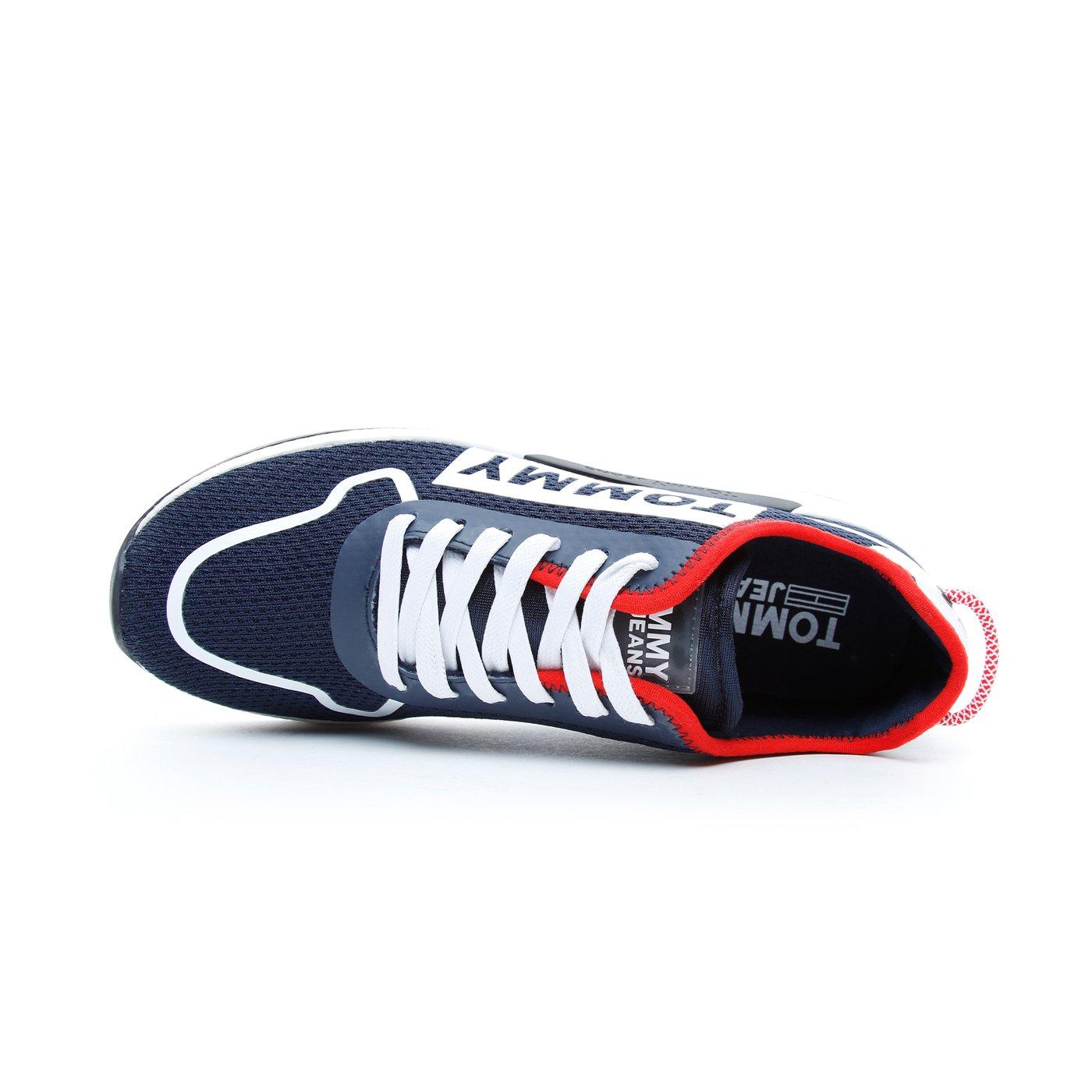Tommy Hilfiger Technical Details Flexi Erkek Mavi Spor Ayakkabı