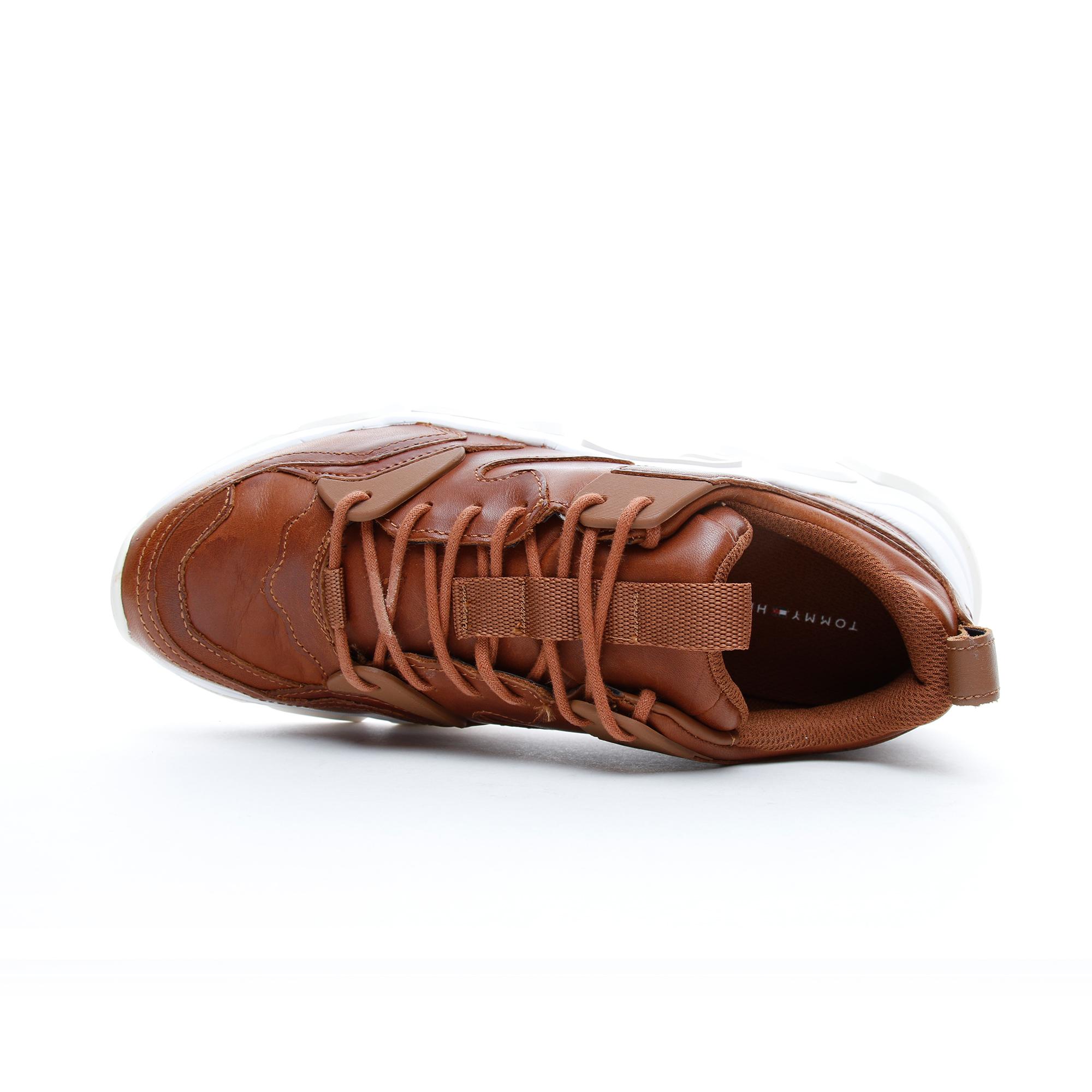 Tommy Hilfiger Chunky Erkek Kahverengi Spor Ayakkabı