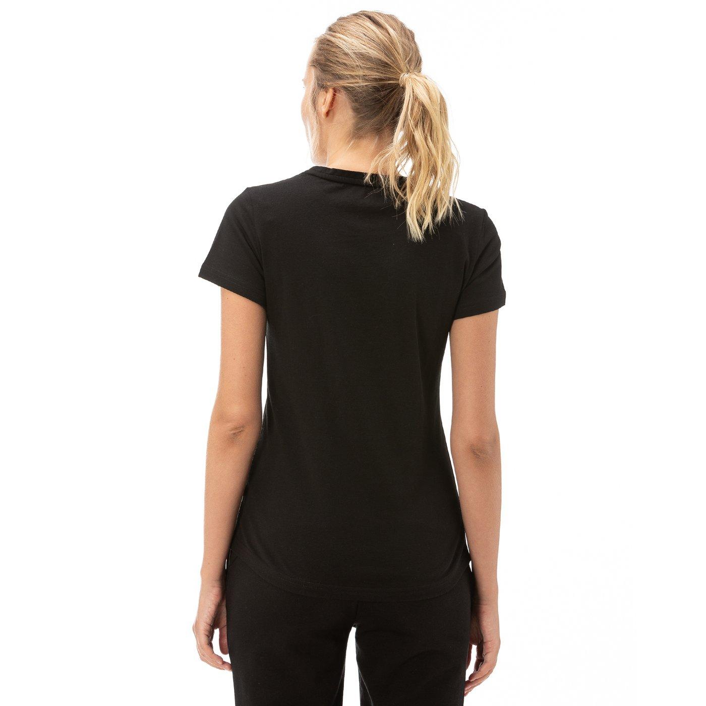 Puma ESS Logo Kadın Siyah T-Shirt