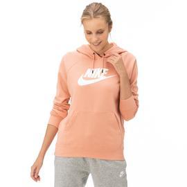 Nike Essntl Hoodie Po  Hbr Kadın Pembe Sweatshirt