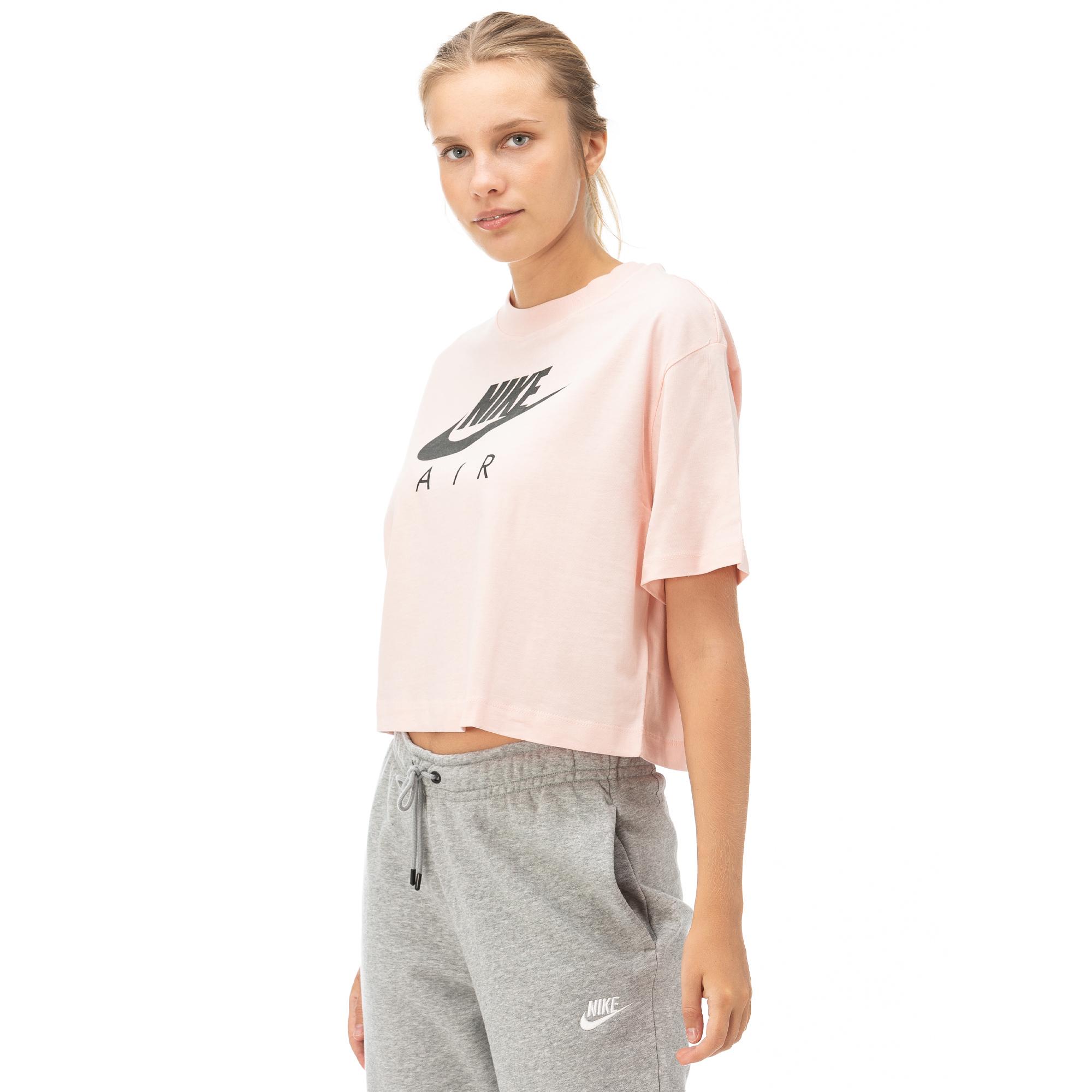 Nike Air Top Ss Kadın Pembe Kısa Kollu T-Shirt