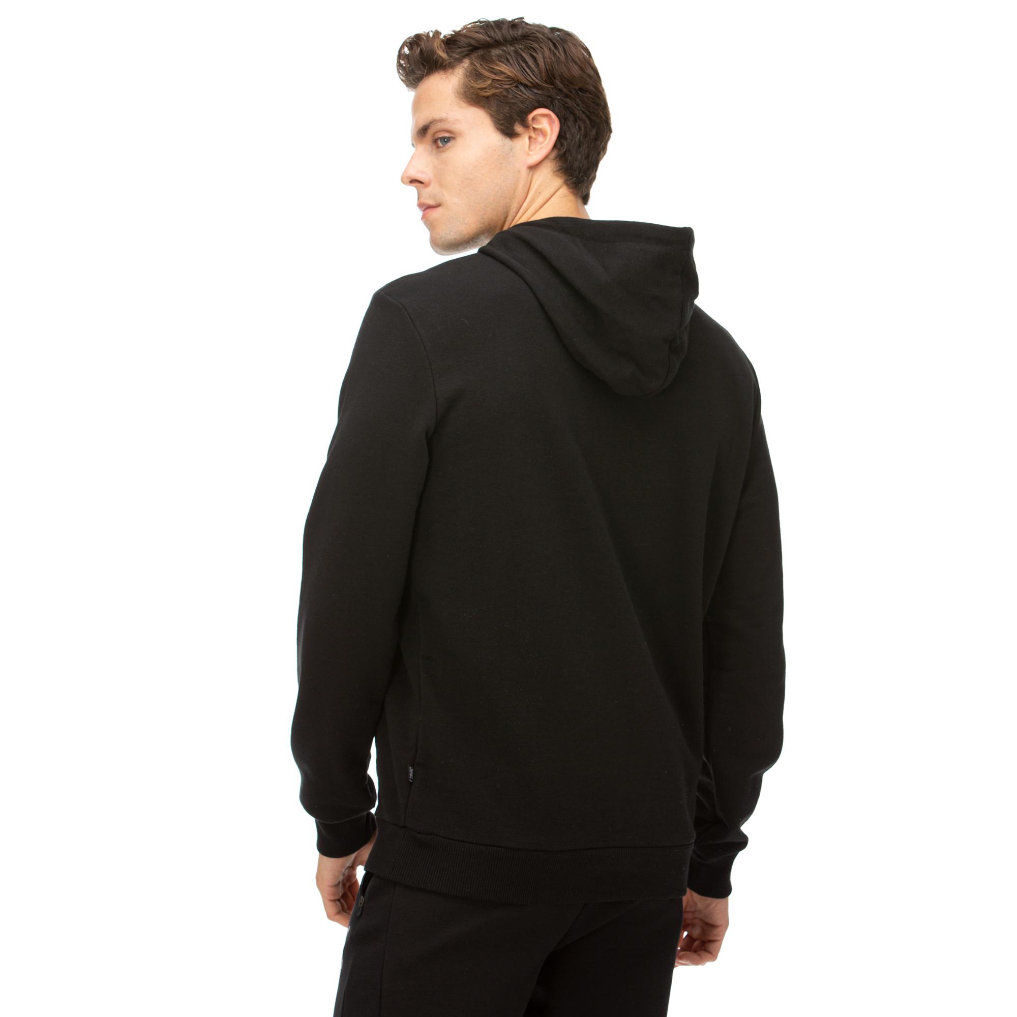 Puma Essentials Hoody Erkek Siyah Sweatshirt