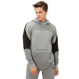 Puma Evostripe Hoody Erkek Gri Sweatshirt