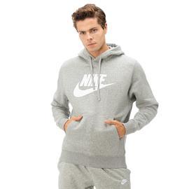 Nike Club Hoodie Po Bb Gx Erkek Gri Sweatshirt