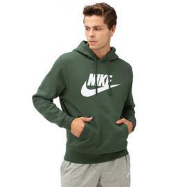 Nike Club Hoodie Po Bb Gx Erkek Yeşil Sweatshirt