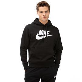 Nike Club Hoodie Po Bb Gx Erkek Siyah Sweatshirt