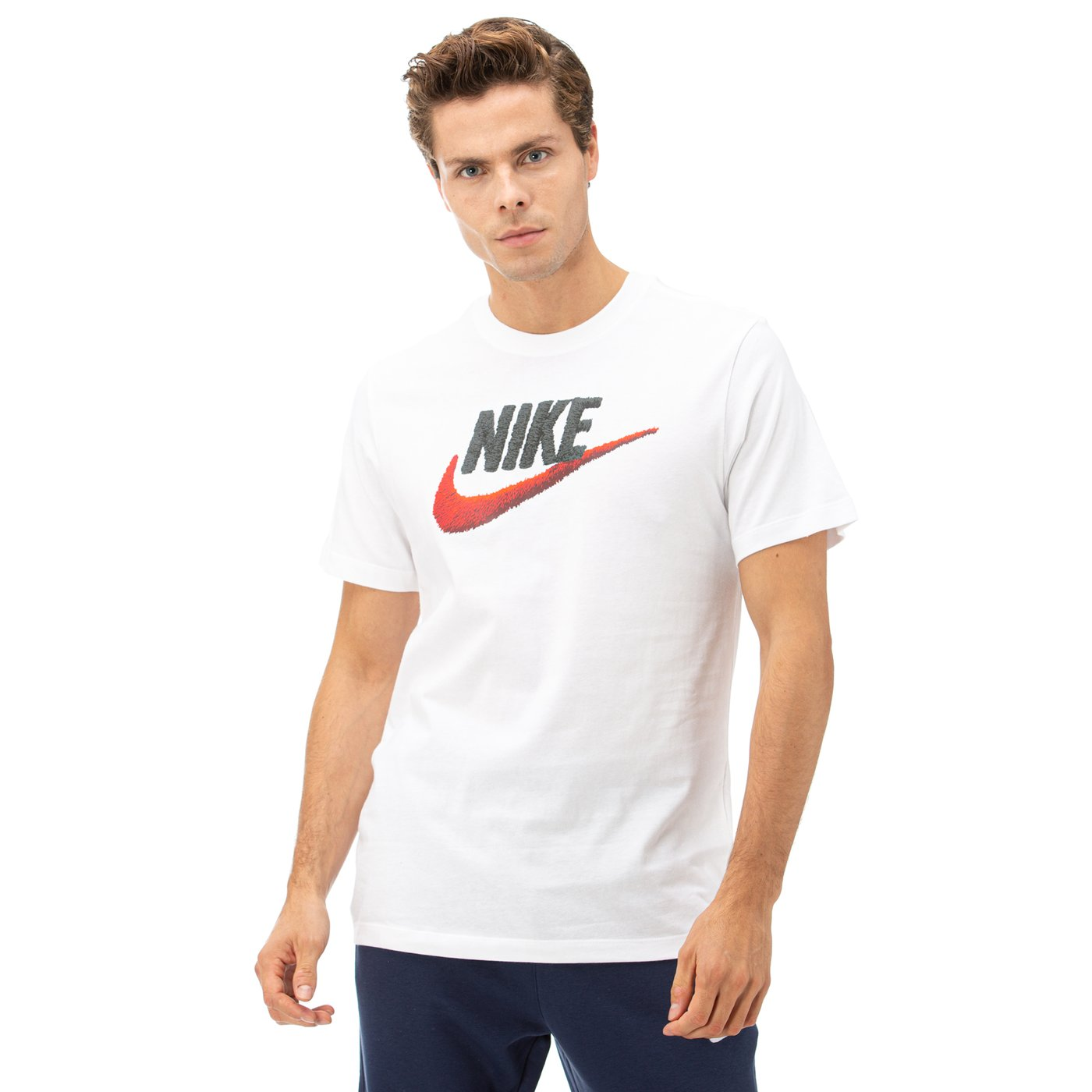 Nike Sportswear Beyaz Erkek T-Shirt