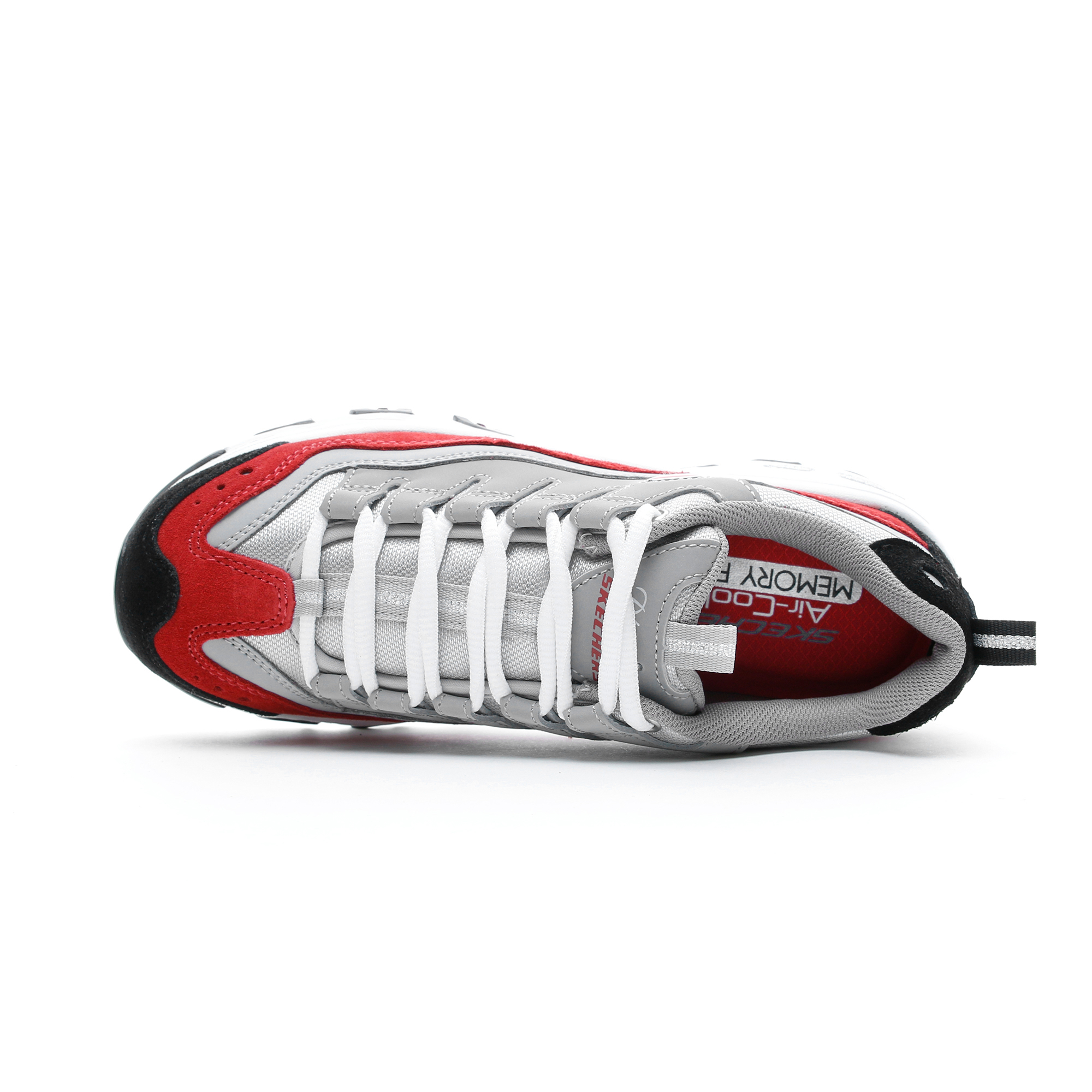 Skechers D'Lites-Sure Thing Gri Kadın Spor Ayakkabı