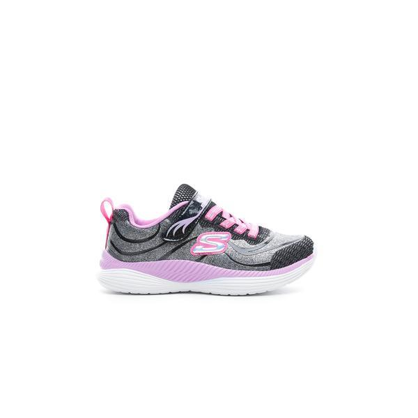 Skechers Move 'N Groove Gri - Pembe Çocuk Spor Ayakkabı