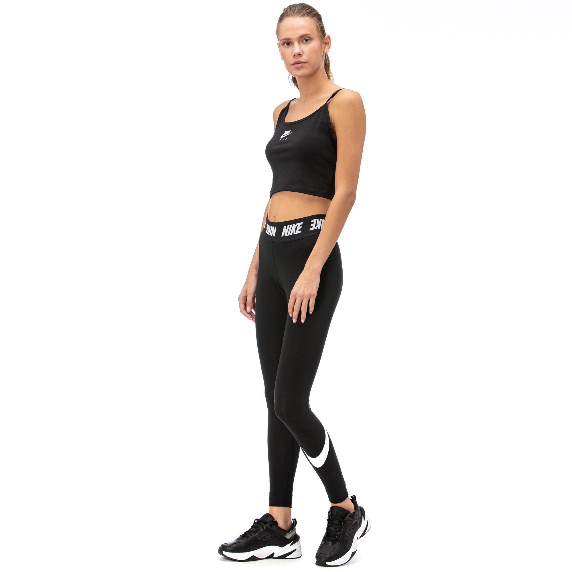 Nike Lggng Club Hw Kadın Siyah Tayt