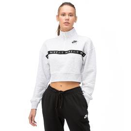 Nike Air Top Hz Bb Kadın Beyaz Uzun Kollu T-Shirt
