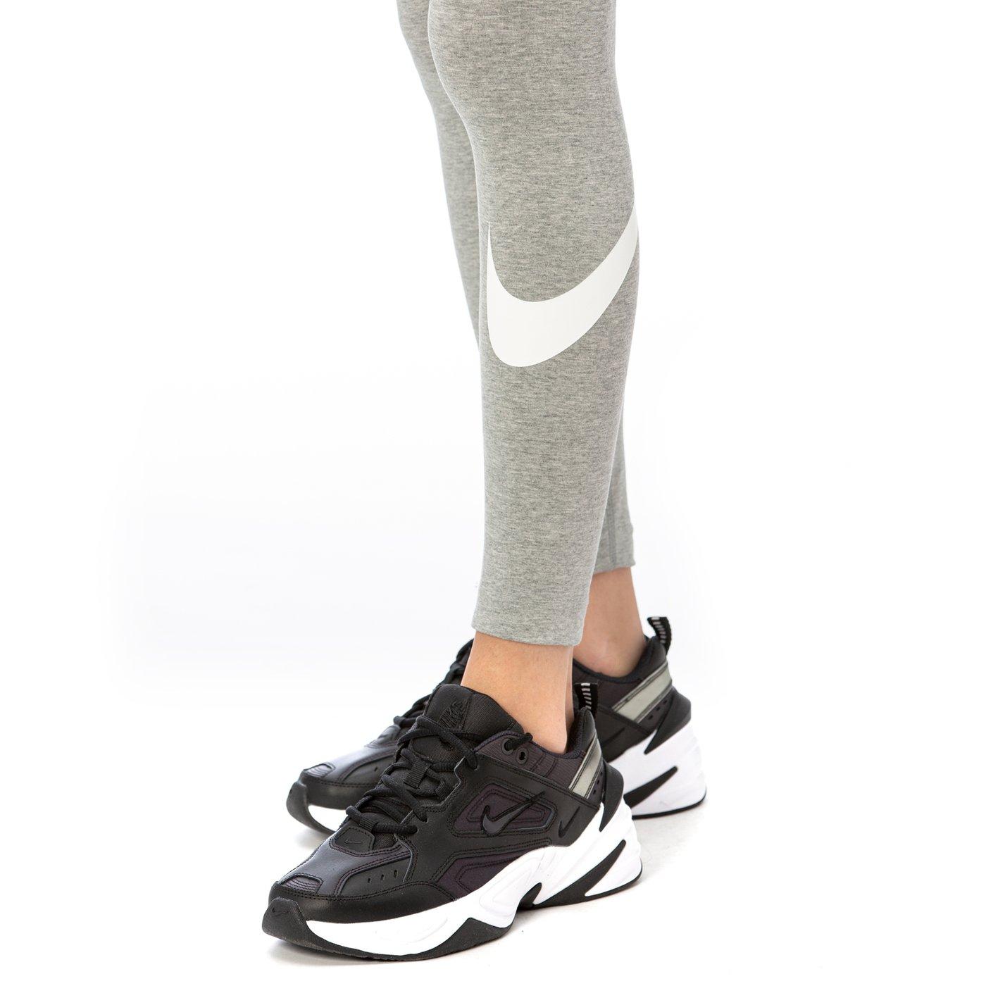 Nike Lggng Club Hw Kadın Gri Tayt