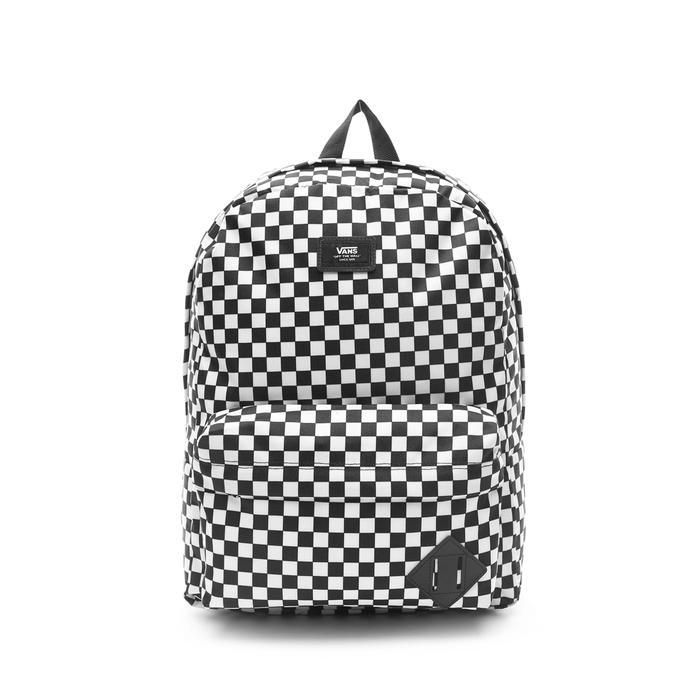 Vans Old Skool III Checkerboard Siyah - Beyaz Unisex Sırt Çantası