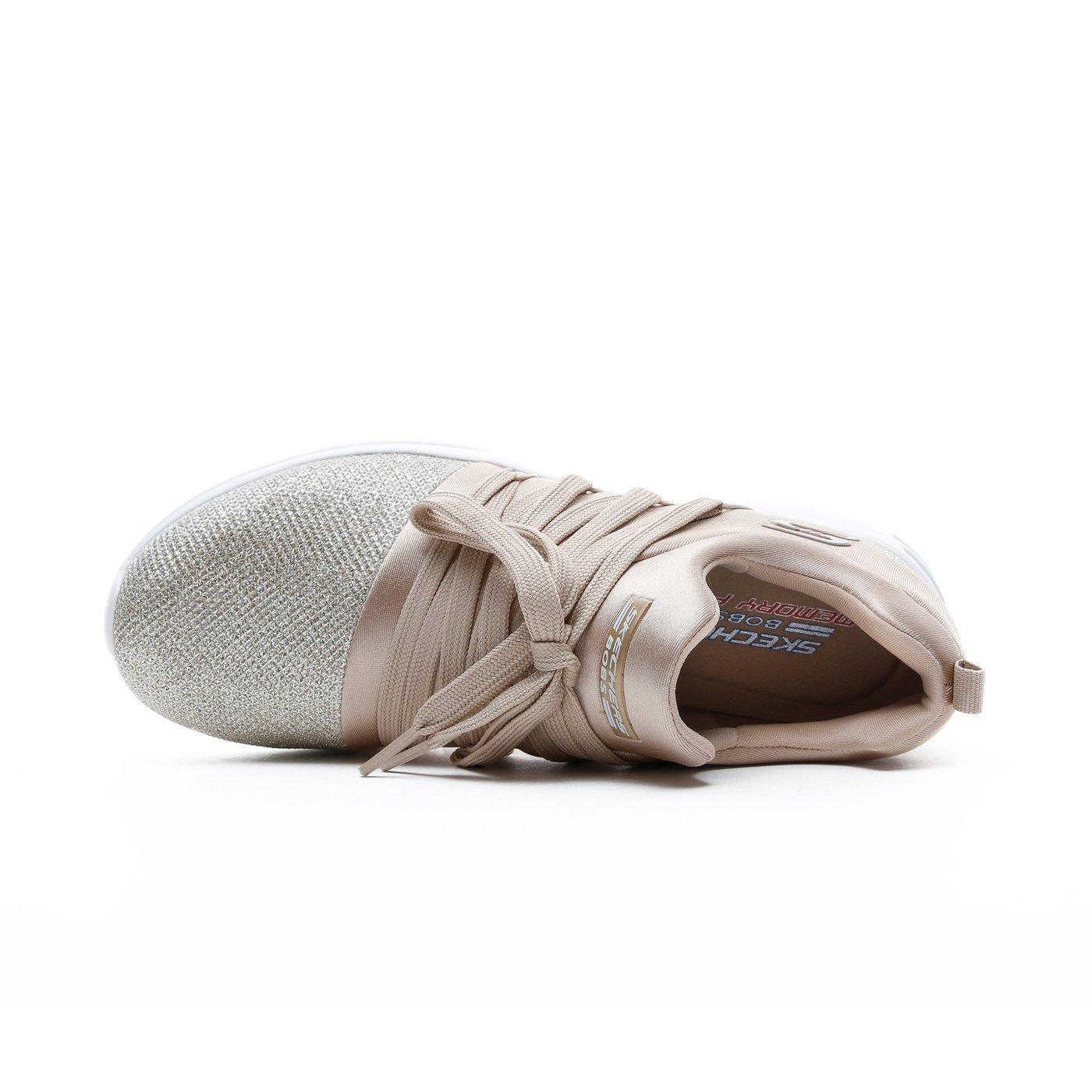 Skechers Bobs Sparrow Gri Kadın Spor Ayakkabı