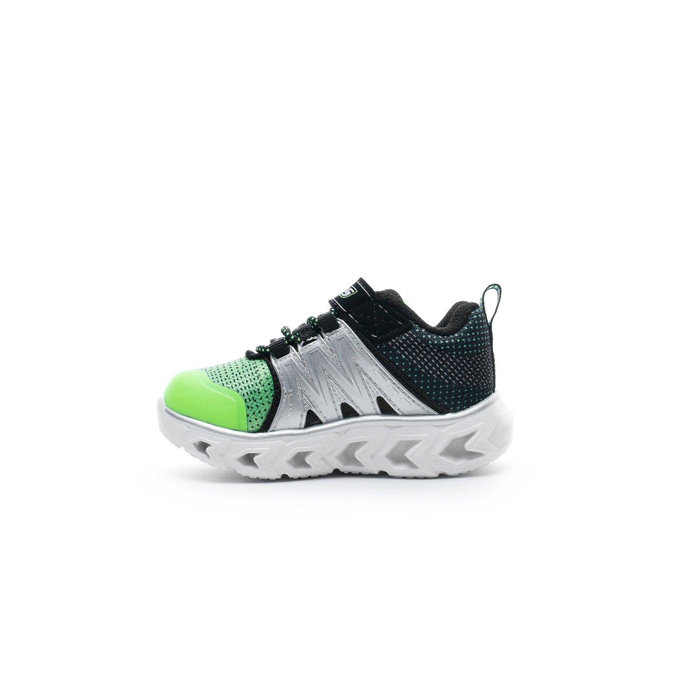 Skechers Hypno-Flash 2.0 Işıklı Yeşil - Siyah Bebek Spor Ayakkabı