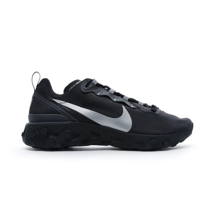 Nike React Element 55 SE Siyah Erkek Spor Ayakkabı