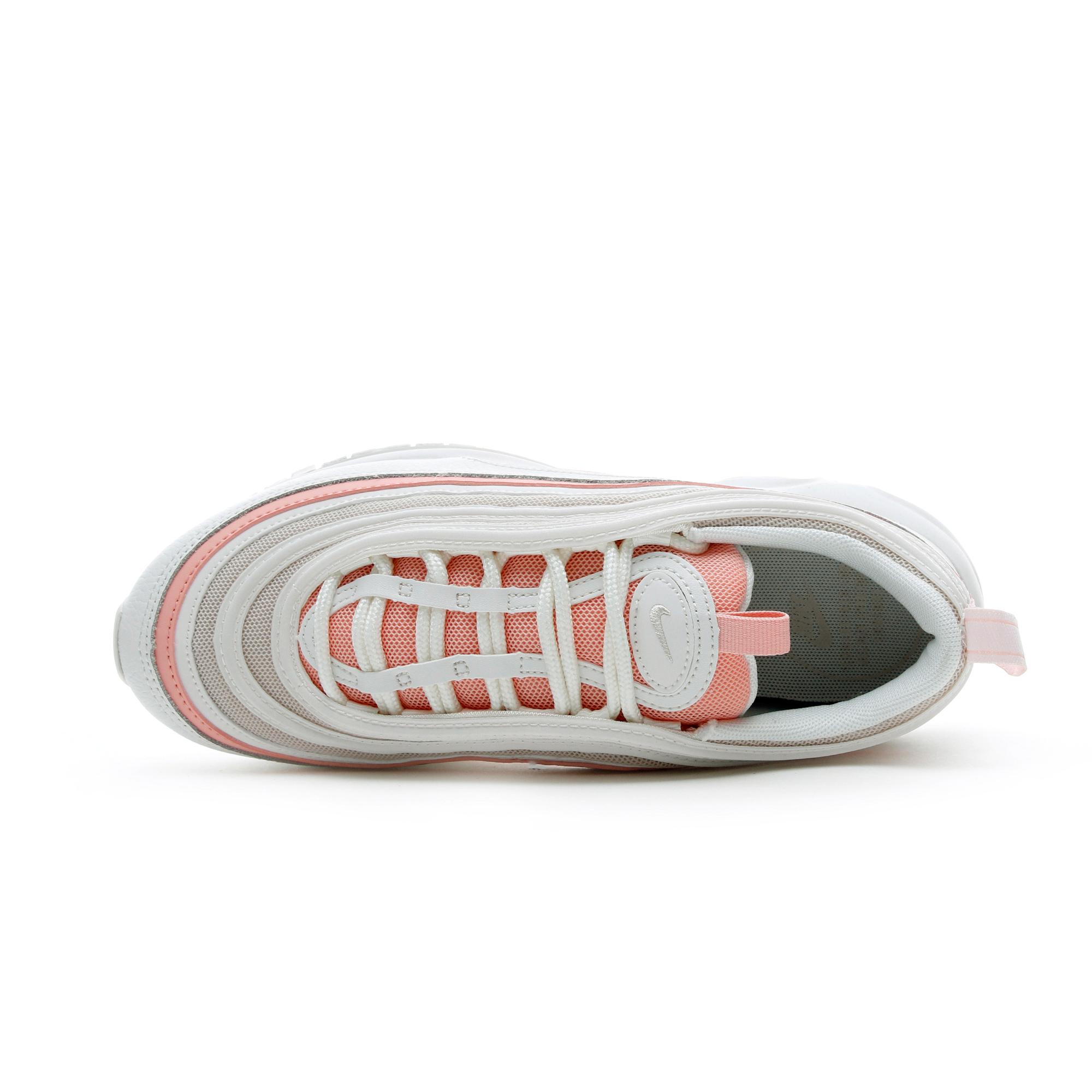 Nike Air Max 97 Beyaz - Pembe Kadın Spor Ayakkabı