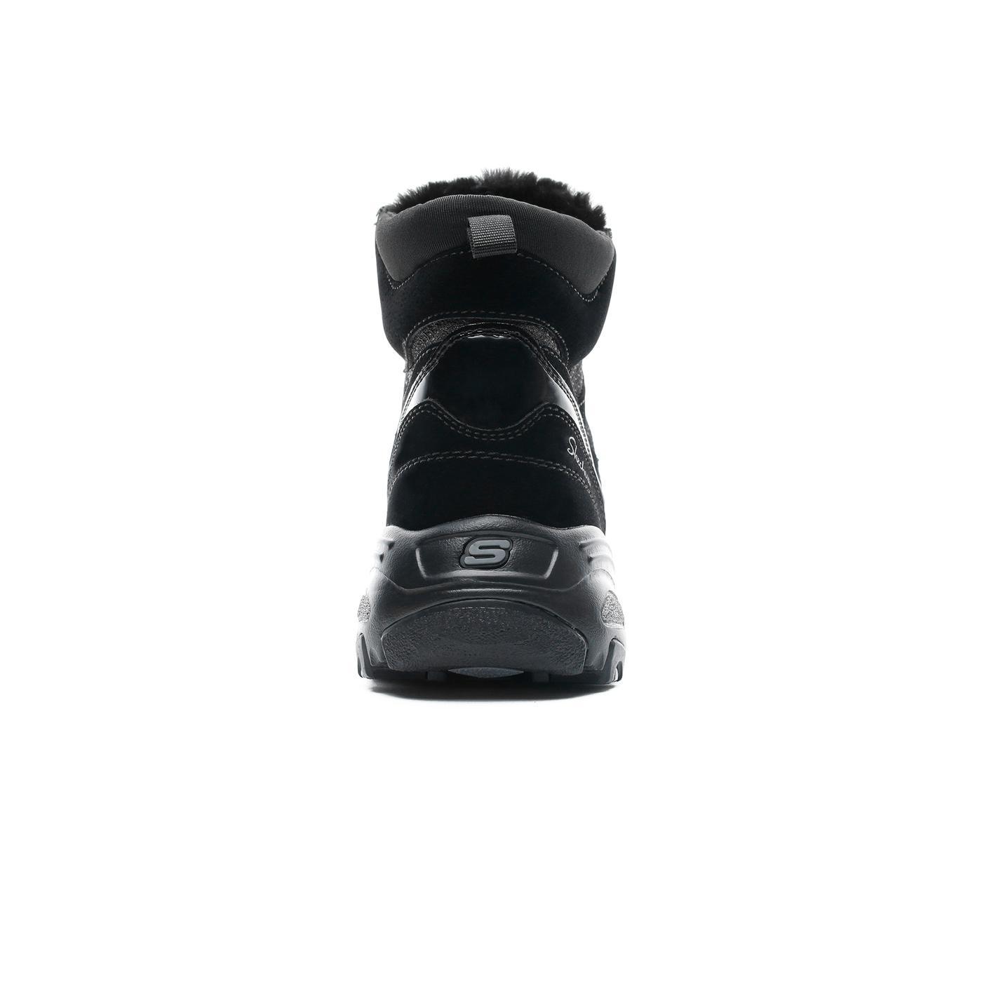 Skechers D'Lites Kadın Siyah Bot