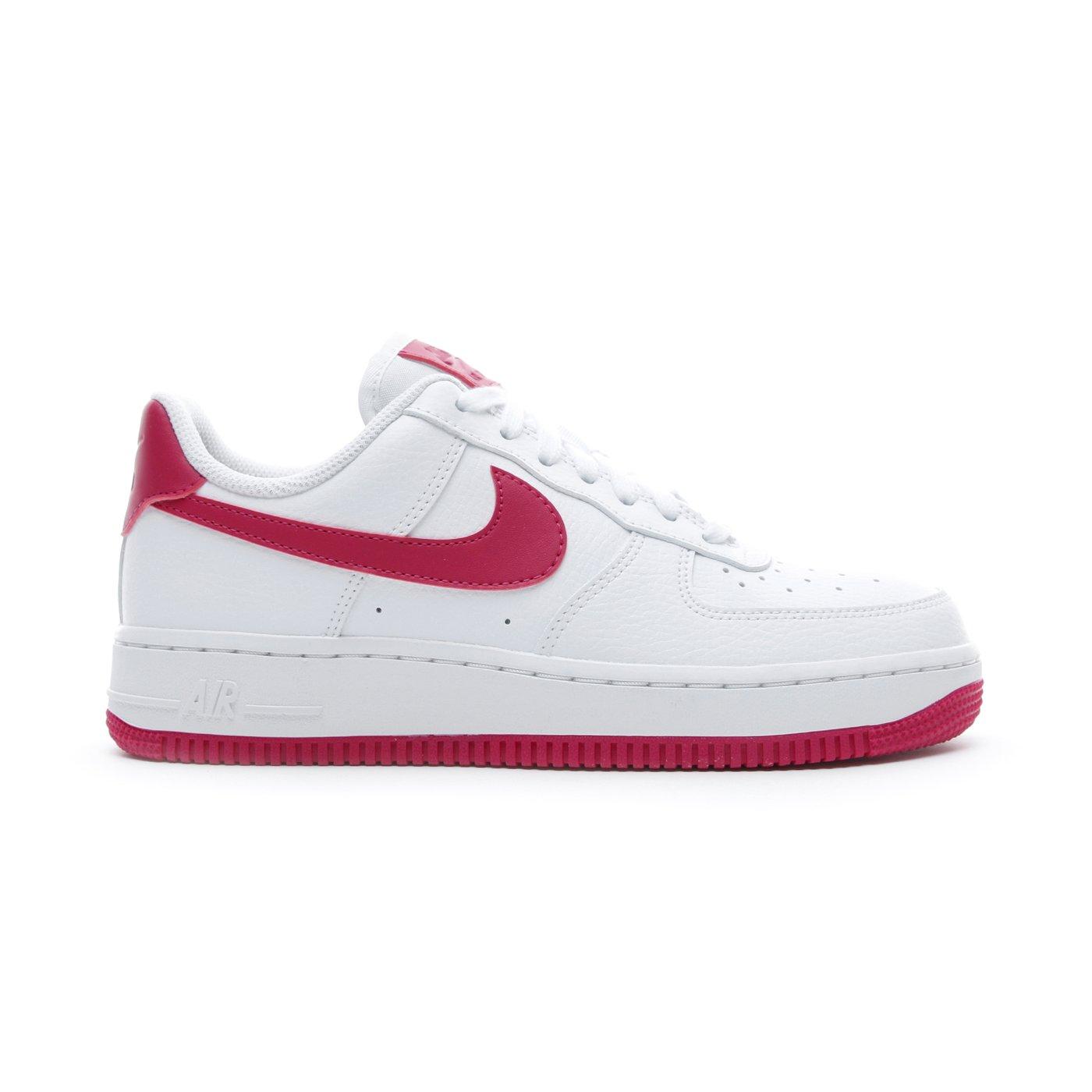 Nike Air Force 1 '07 Beyaz - Kırmızı Kadın Spor Ayakkabı