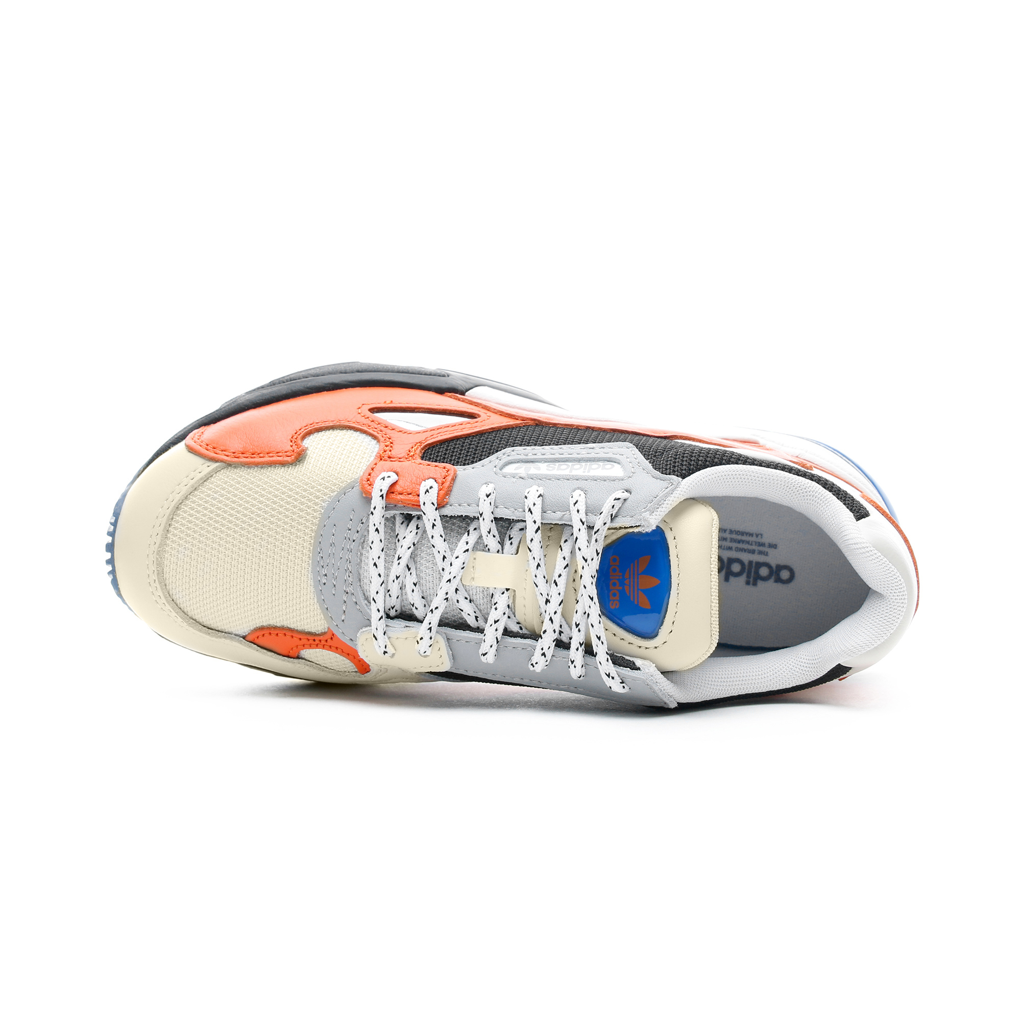 adidas Falcon Kadın Turuncu - Siyah Spor Ayakkabı