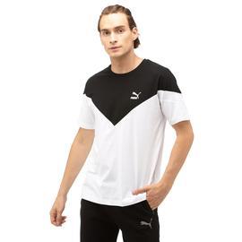 Puma Iconic MCS Erkek Beyaz T-Shirt