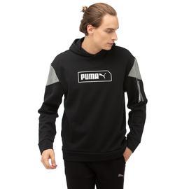 Puma Nu-Tility Hoody Erkek Siyah Sweatshirt