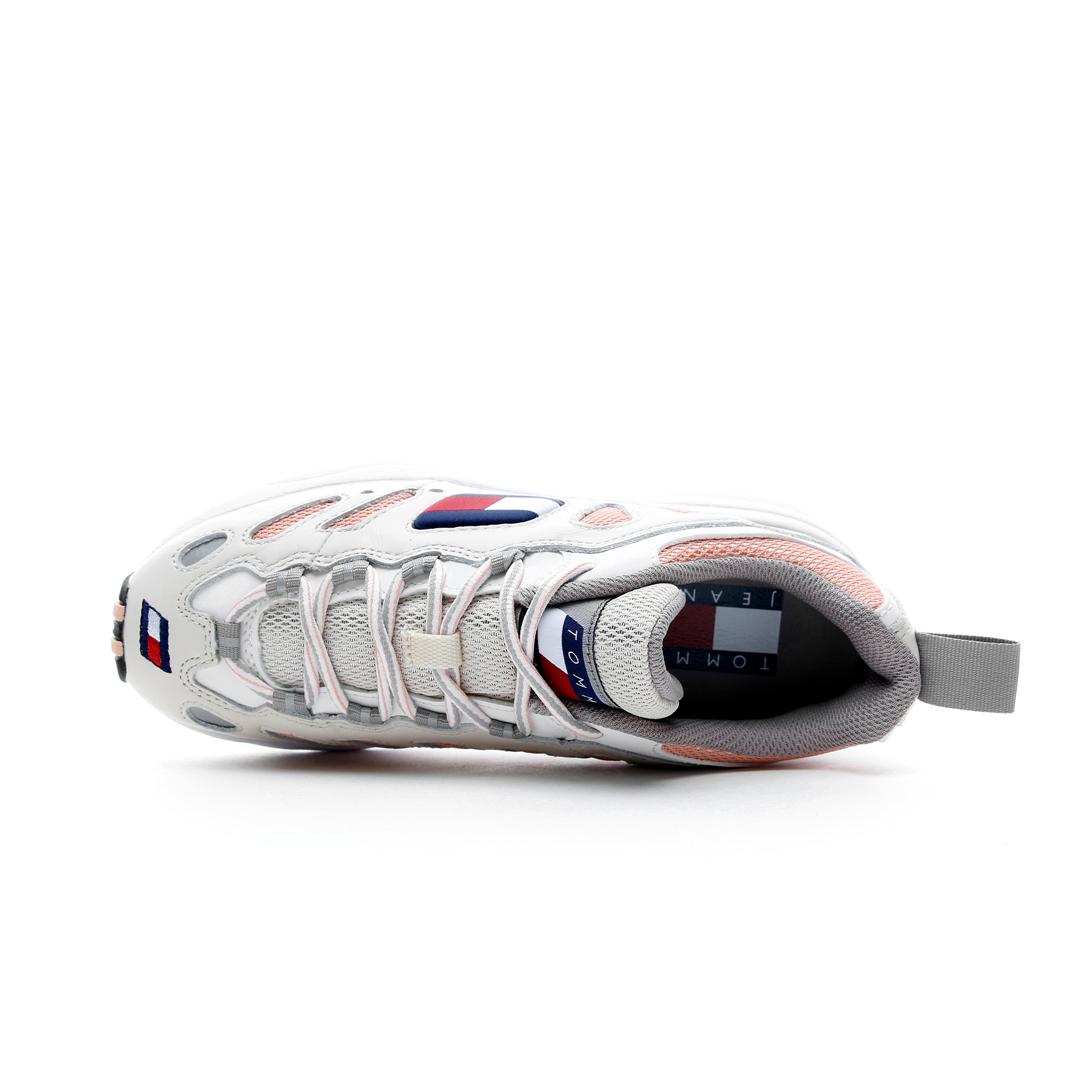 Tommy Hilfiger Heritage Retro Kadın Pembe - Beyaz Spor Ayakkabı