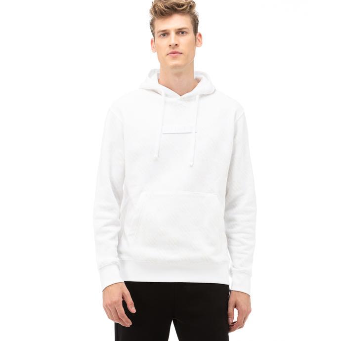 Nike Fleece Pullover Erkek Beyaz Sweatshirt