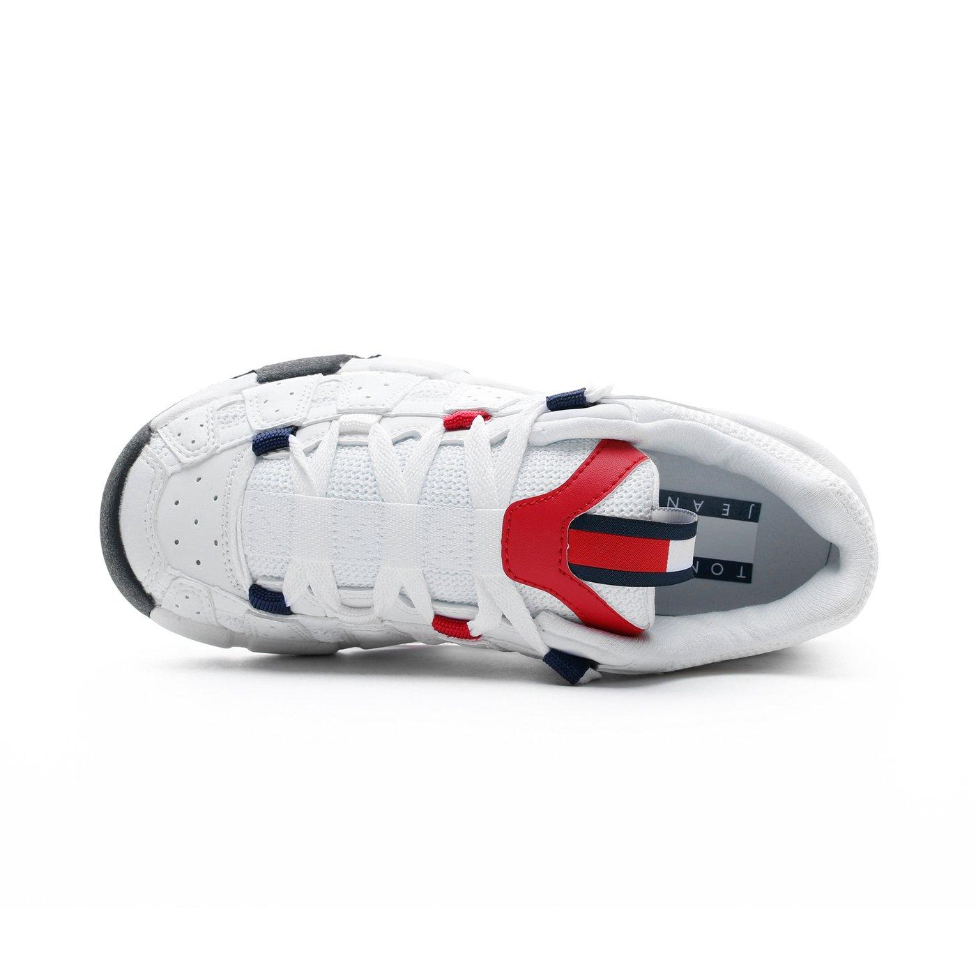 Tommy Hilfiger Heritage Chunky Kadın Beyaz Spor Ayakkabı
