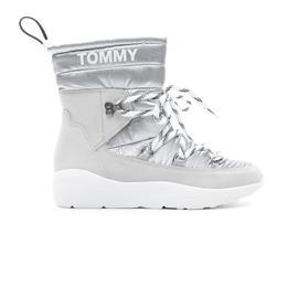 Tommy Hilfiger Padded Hybrid Kadın Beyaz Bot