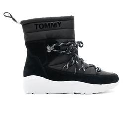 Tommy Hilfiger Padded Hybrid Kadın Siyah Bot