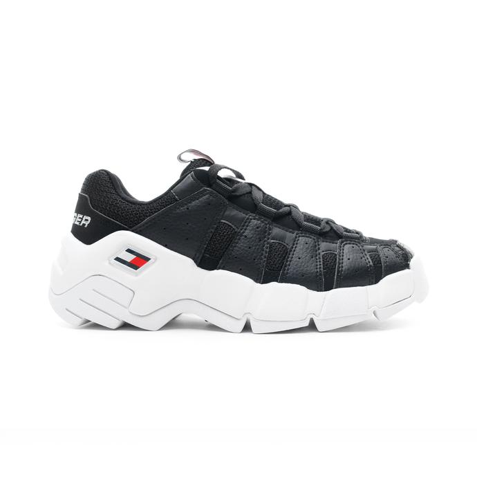Tommy Hilfiger Heritage Chunky Kadın Siyah Spor Ayakkabı