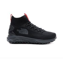The North Face Erkek Truxel Mid Siyah Doğa Yürüyüşü Ayakkabısı