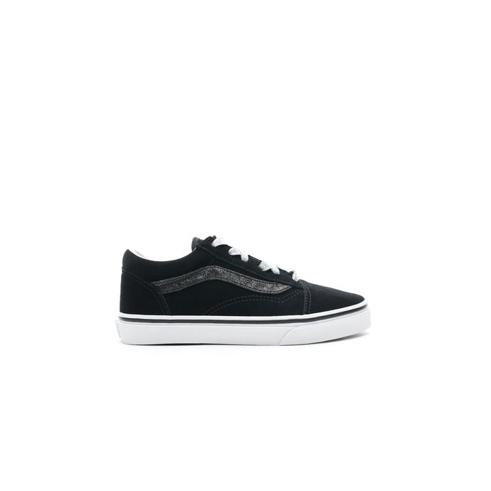 Vans Old Skool Glitter Sidestripe Siyah Çocuk Sneaker