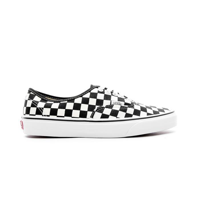 Vans Golden Coast Authentic Checker Siyah - Krem Erkek Sneaker