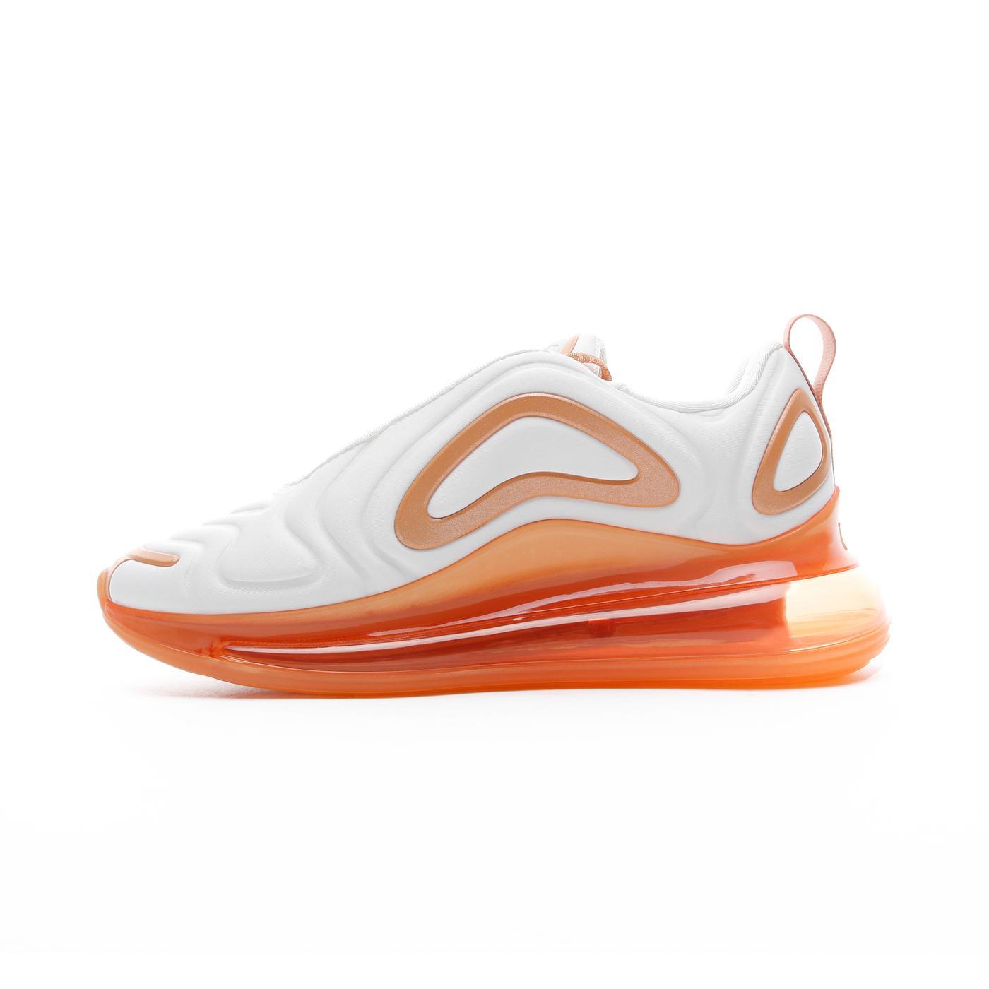 Nike Air Max 720 SE Beyaz - Turuncu Kadın Spor Ayakkabı