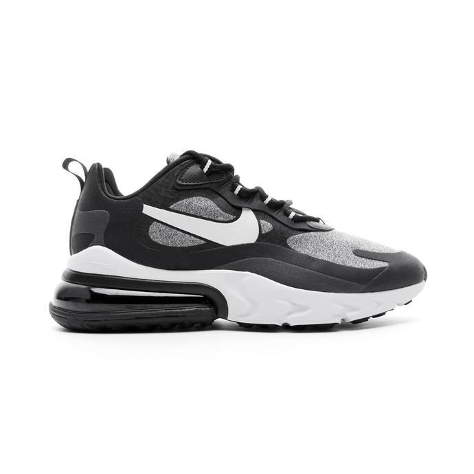 Nike Air Max 270 React Op Art Gri Melanj - Siyah Erkek Spor Ayakkabı