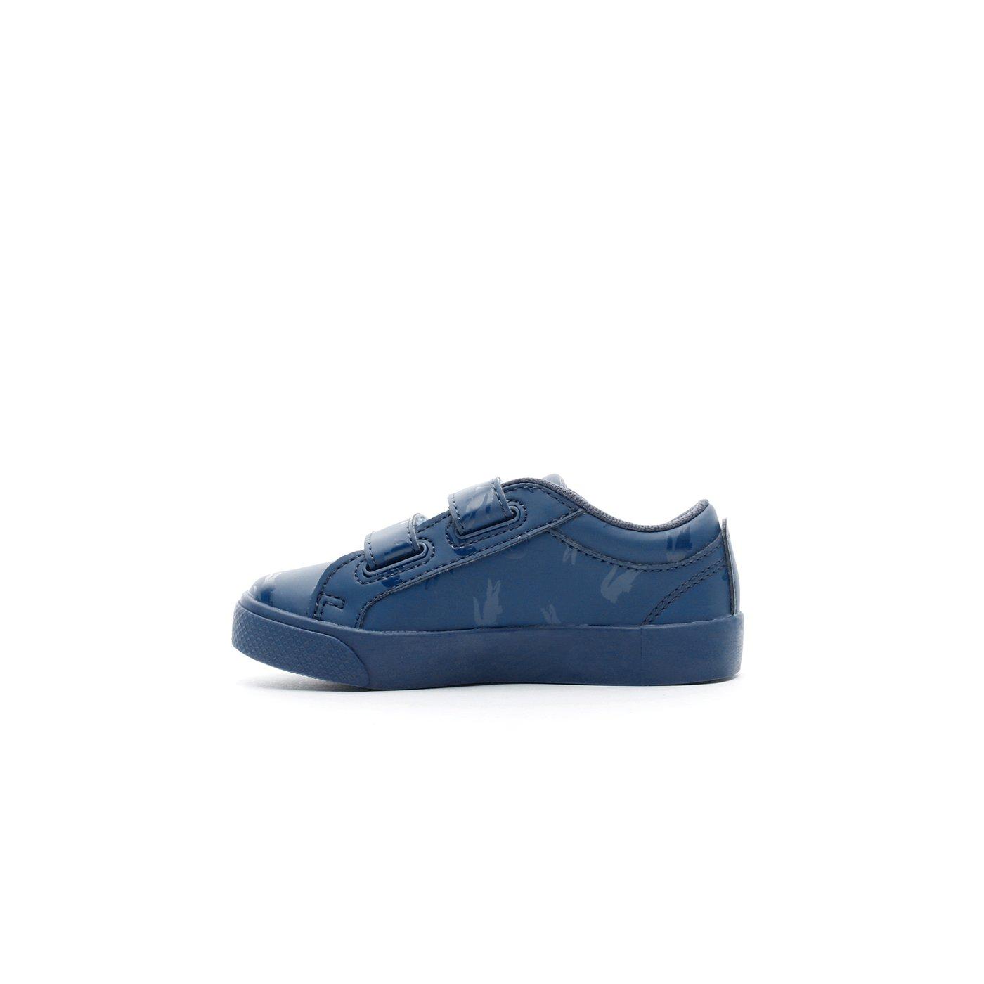 Lacoste Straightset Çocuk Mavi Spor Ayakkabı