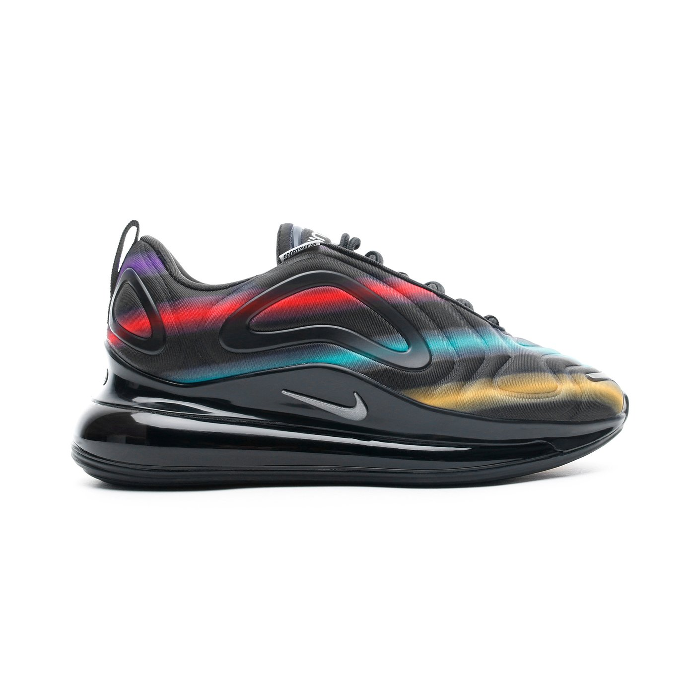 Nike Air Max 720 Siyah Unisex Spor Ayakkabı