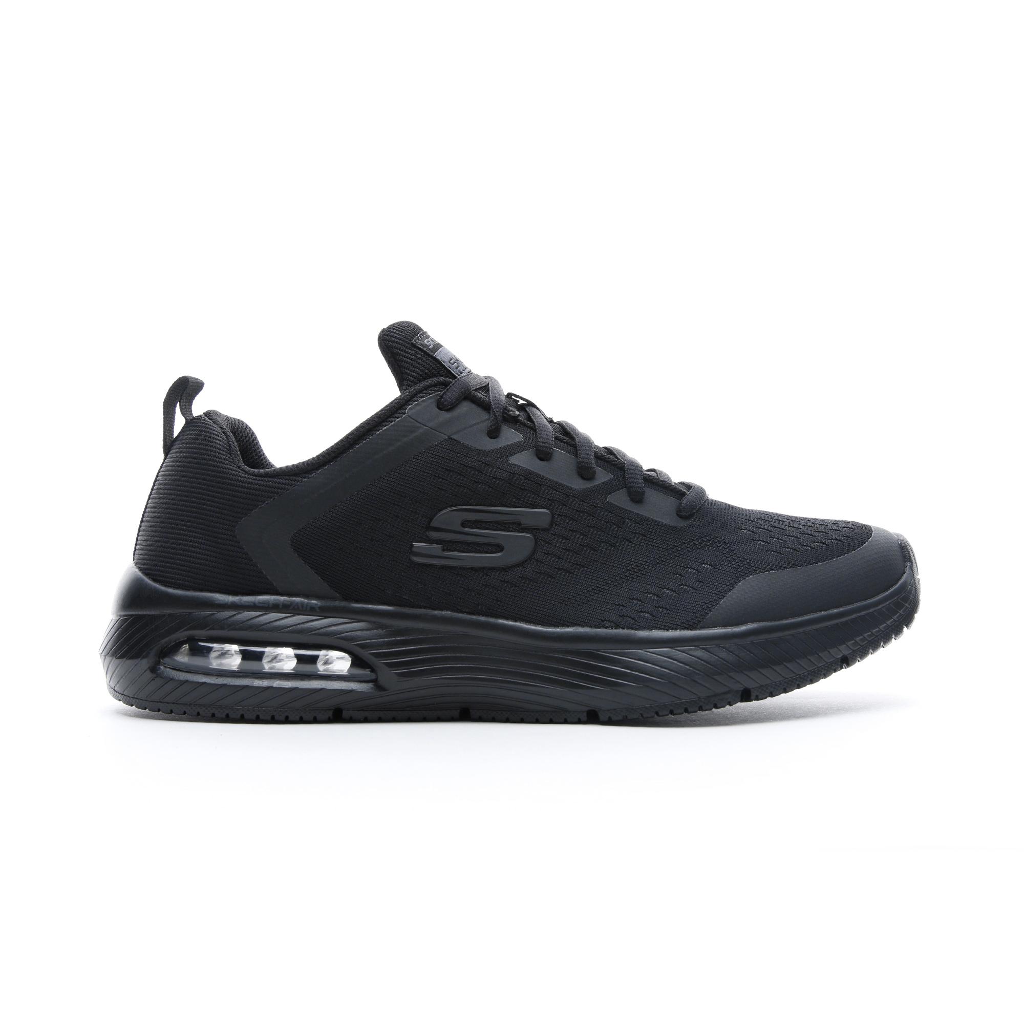Skechers Dyna-Air - Pelland Erkek Siyah Spor Ayakkabı