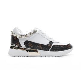 Guess Mian3 Beyaz - Kahverengi Kadın Spor Ayakkabı