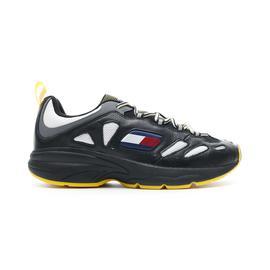 Tommy Hilfiger Heritage Retro Erkek Siyah Spor Ayakkabı