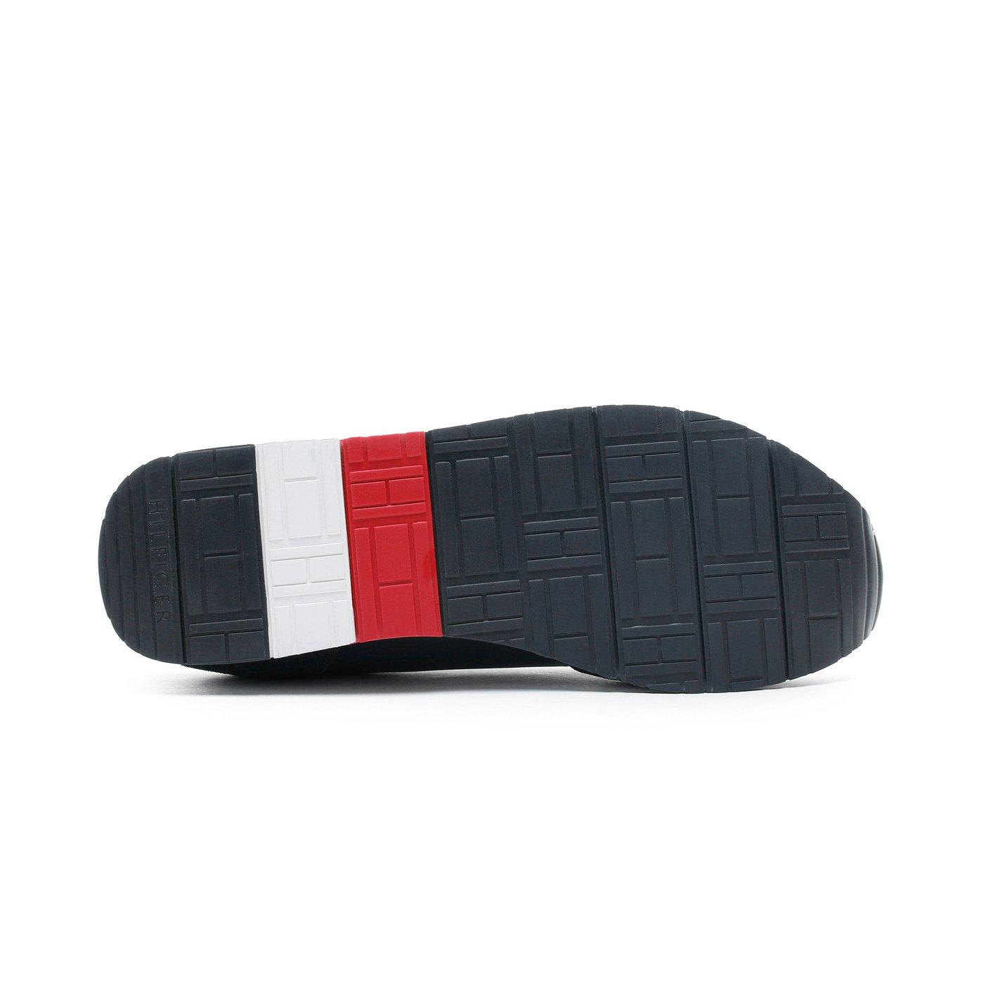 Tommy Hilfiger Corporate Erkek Lacivert Spor Ayakkabı